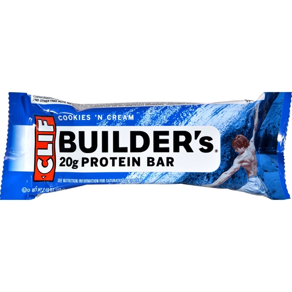 Picture of Case of 12 Clif Bar Builder Bar - Cookies and Cream - 2.4 oz