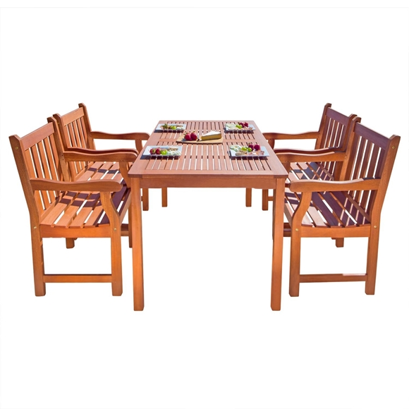 Picture of 5-Piece English Garden Dining Set